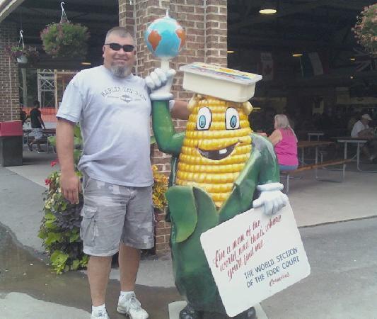 Elysburg, เพนซิลเวเนีย: Corn man!