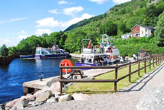 Loch Ness by Jacobite: Clansman Harbour - departure point for the Inspiration and Freedom cruises