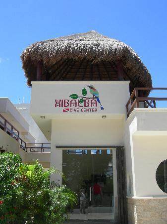 Xibalba Hotel: Rezeption und Tauchbasis