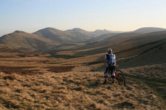Happy Trails Mountain Biking: Pentland Hills Outside Edinburgh