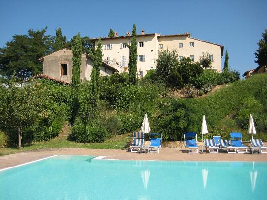 Hotel Villa Ducci: Villa Ducci Blick vom Pool