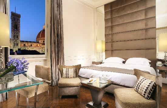 Hotel Brunelleschi: Deluxe room with a view