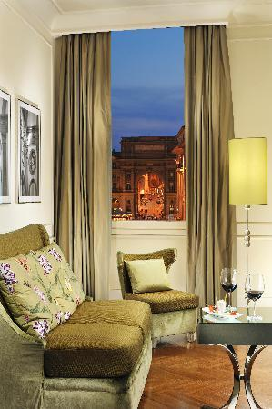 Hotel Brunelleschi: The view from one of our junior Suite