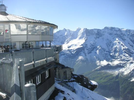 Murren, Switzerland: The Schilthorn revolving observatory