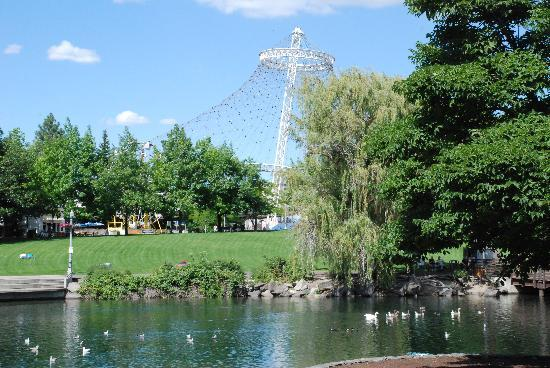 Spokane, WA: Lake in the park