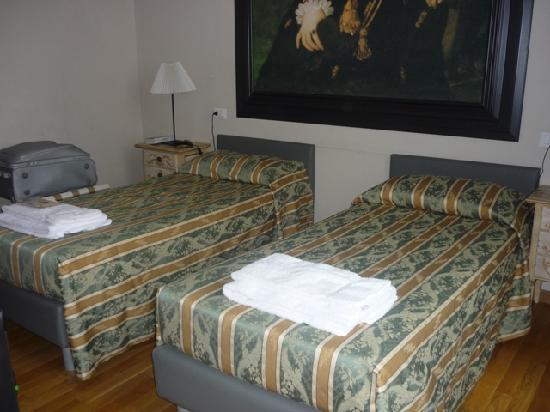 Bed and Breakfast Repubblica: Twin beds