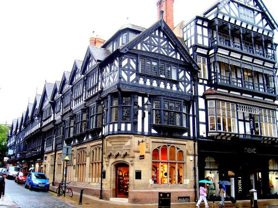 Chester, UK : bonitas calles