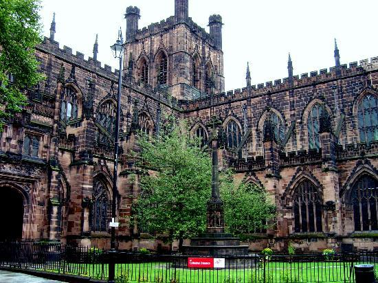 Chester, UK: la catedral