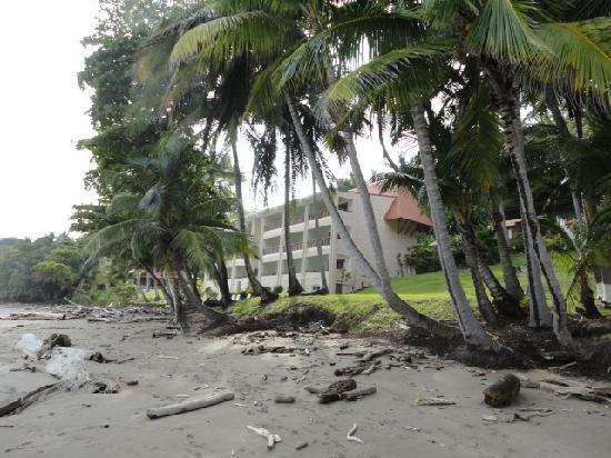 Tango Mar Beachfront Boutique Hotel & Villas: hotel rooms along beach