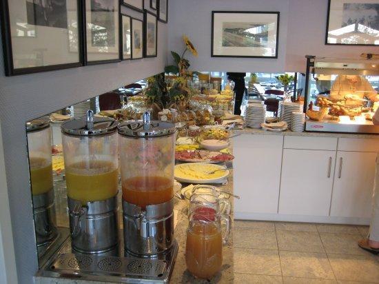 Inselhotel Rügen: Frühstücksbüffet