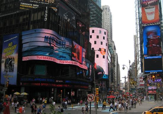 Hampton Inn Manhattan-Times Square North: Less than 3 short blocks fromTimes Square