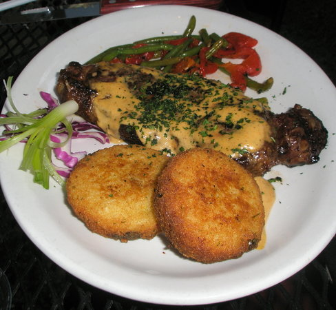 Midland, TX: Black Angus NY Strip w/ Lobster Truffle Butter