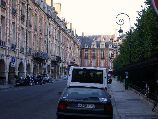 Paris, France: Les Vosges