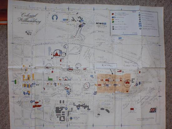 This Week Map Picture Of Colonial Williamsburg Williamsburg - Colonial williamsburg map