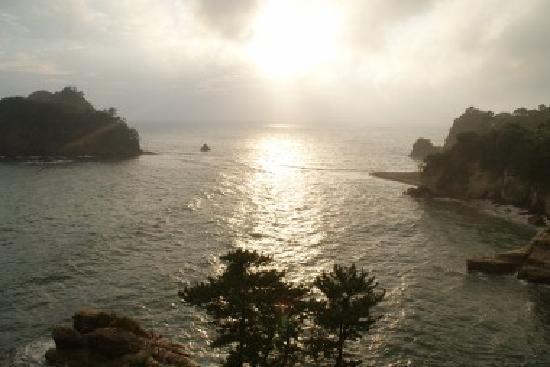西伊豆町, 静岡県, 部屋からの眺め