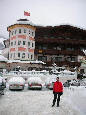 Maria Theresia : Blick aufs Hotel