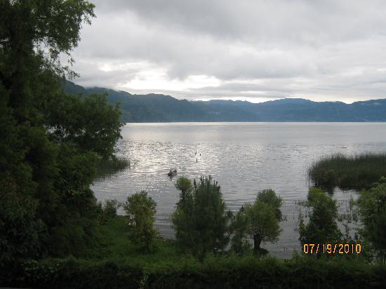 San Pedro La Laguna, Guatemala: Lake Atitlan at Daybreak from Hotel Sakcari