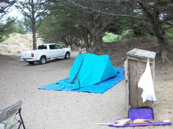 Bodega Dunes Campground: Site 88b