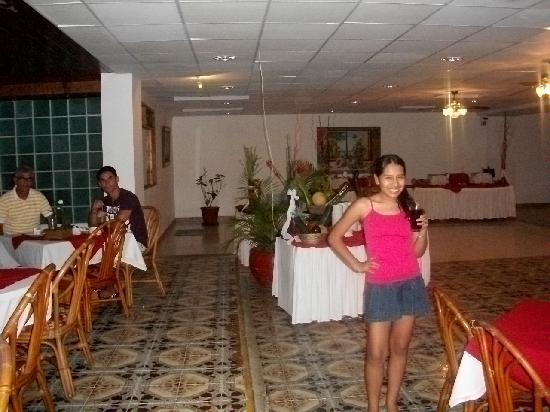 Sol Caribe San Andres: Yo en el comedor