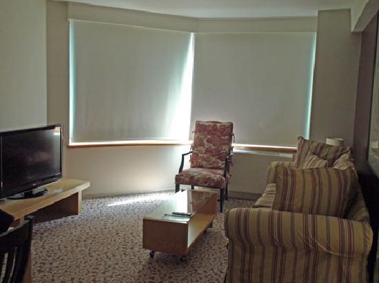 The Marmara Manhattan: living room