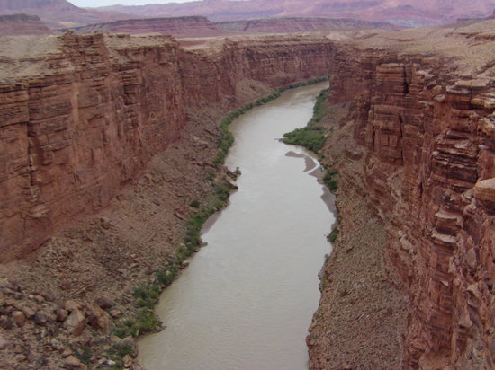 Grand Canyon nationalpark, AZ: colorodo river