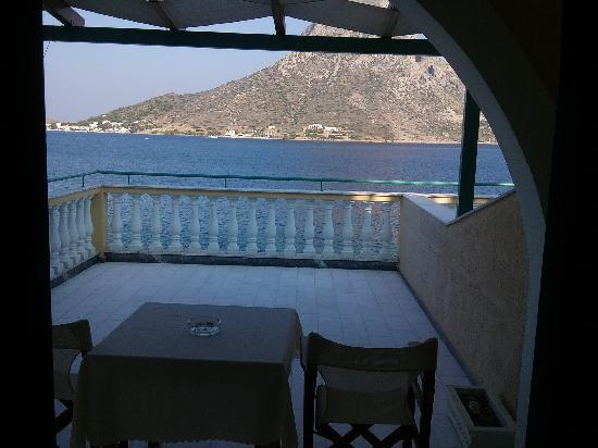 Massouri, Grecia: Balcony in the morning