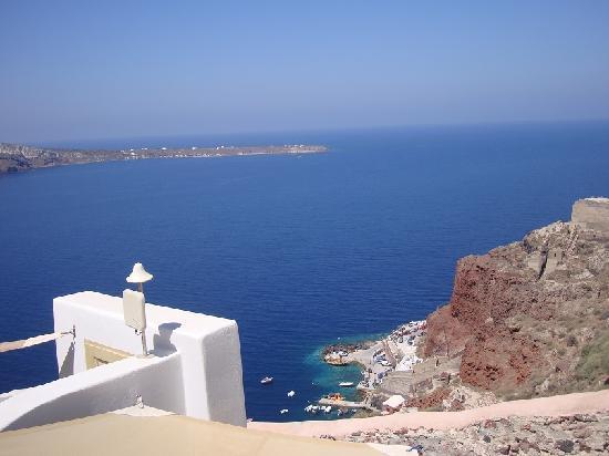 Art Maisons Luxury Santorini Hotels Aspaki & Oia Castle: La Vue De Notre Balcon - De Quoi Relaxer...