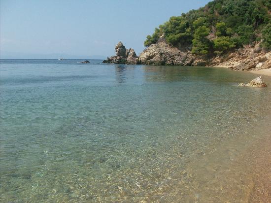 Villa Christina: Diamandi beach