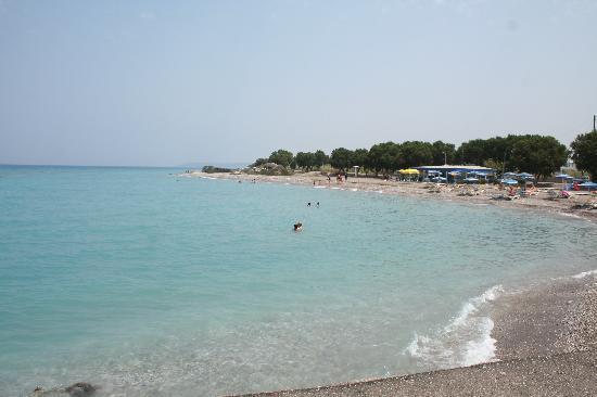 Maritime Hotel Apartments: the beach at Kremasti