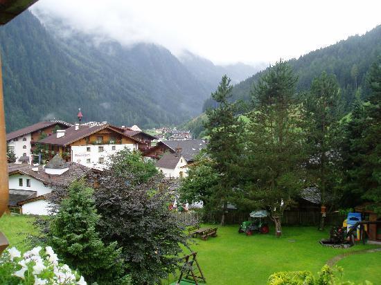 Hotel Almhof Danler: view from balcony