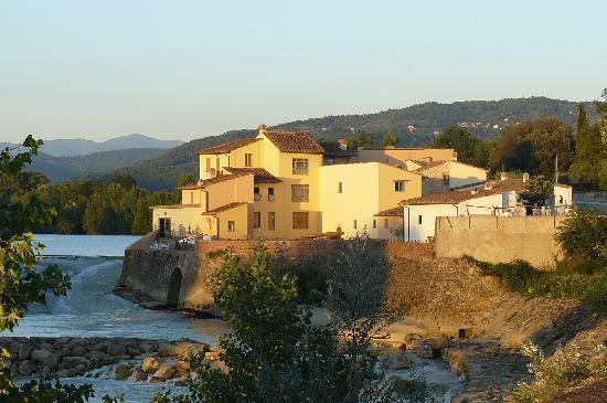 Hotel Mulino di Firenze : Il mulino au soleil couchant