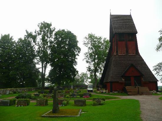 Uppsala, Swedia: Friedhof