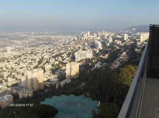 Dan Carmel Haifa : View from Vip Launge