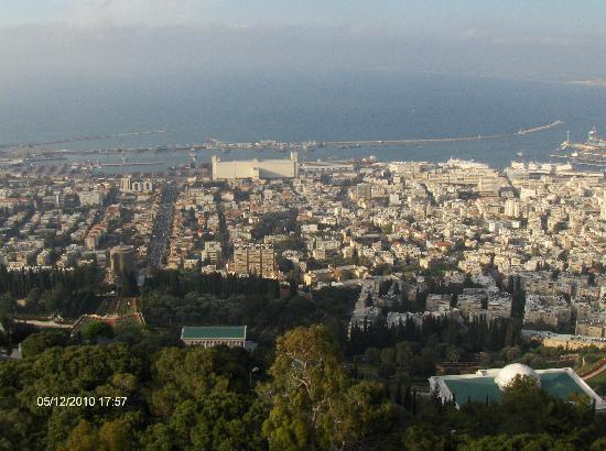 Dan Carmel Haifa : Haifa from Vip Launge