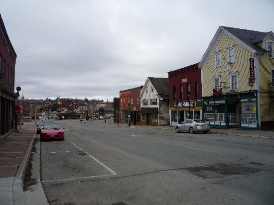 Blair House Heritage Breakfast Inn: A snapshot of downtome St. Stephen - lonesome place during a weekday in Mid-April