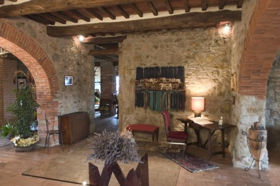 La Meridiana Locanda in Maremma : Hall