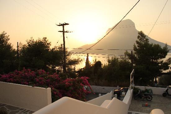 Hotel Oasis Massouri: view from balcony
