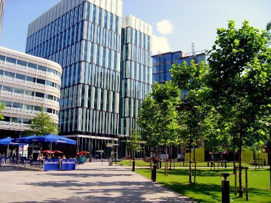 Manchester, UK : Centro de Negocios, zona tranquila