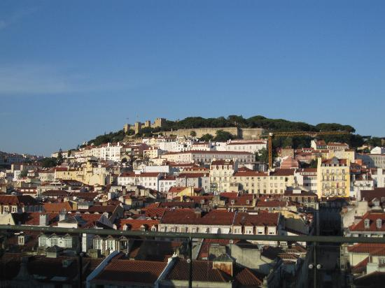 Hotel do Chiado : View from the terrace