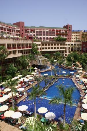 Best Jacaranda: Innenhof des Hotel Jacaranda