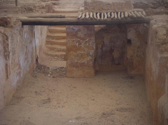 Creta, Grécia: rovine di malia