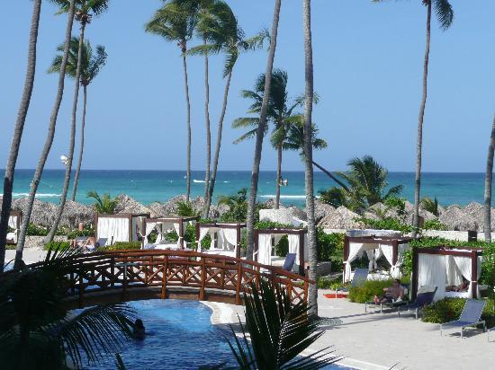 parasailing view picture of majestic elegance punta cana. Black Bedroom Furniture Sets. Home Design Ideas
