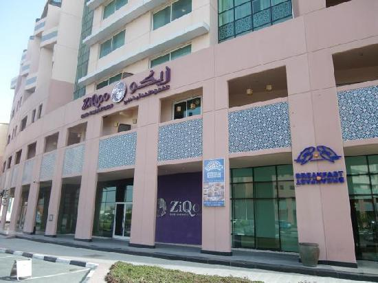 ZiQoo Hotel Apartment : 外観