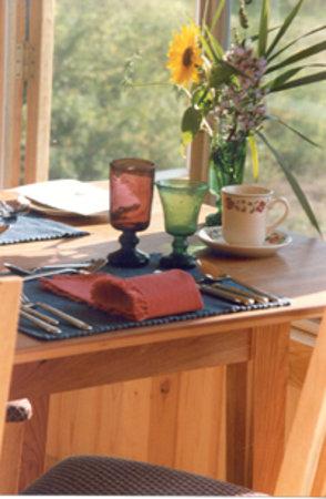Rose Valley Lodge & Restaurant : Table Setting