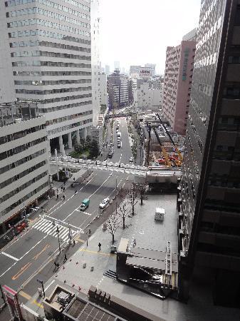 Hotel Sunroute Plaza Shinjuku: Aussicht vom Hotelzimmer (ca. 13. Stock)