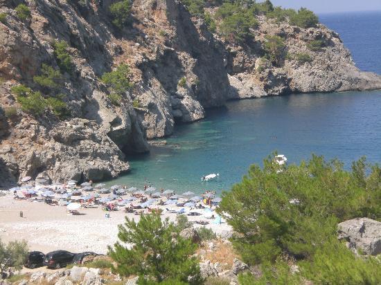 Karpathos, Greece: Spiaggia di Akata