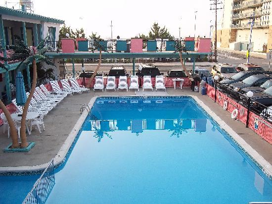 Lu Fran Motel: pool is cleaned every morning!