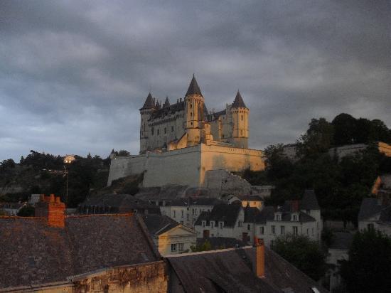 Hotel du Commandement: vistas al Chateau