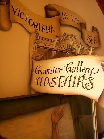 Grainstore Gallery: Grainstore Art Gallery signage