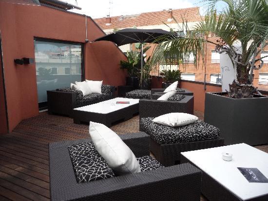 Hotel Villa Emilia: la terrasse sur le toit